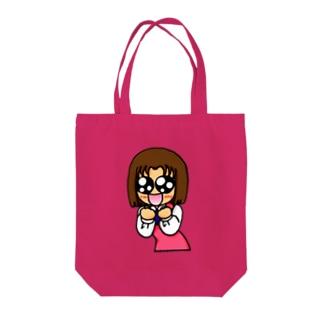 あきこちゃん Tote bags