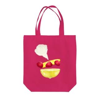 strawberry and lemon Q Tote Bag