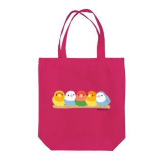 コザクラインコ5(色変わり) Tote bags