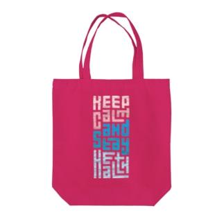 Keep Calm and Stay Health Tote Bag