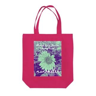 nanometer『いつも心に花を』トートバッグ Tote bags