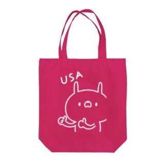 USA☆GI(白) Tote bags