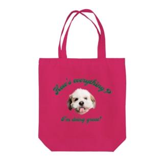 🐶いぬ・犬・DOG・ワンワン Tote Bag