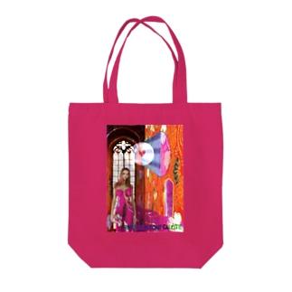 パワーストーン『ピンクコバルトカルサイト』 Tote bags