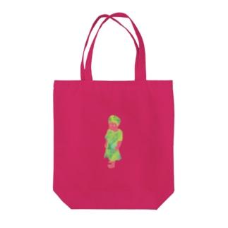 がんこちゃん Tote bags