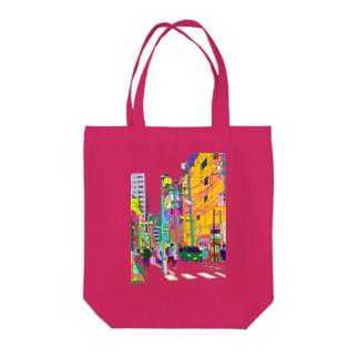 ハチオウジ  /  瀬川賀貴 Tote bags