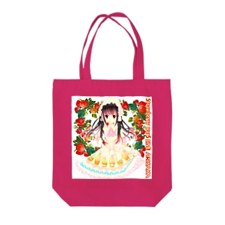 Strawberry warS  EMI ARISAKA Tote bags