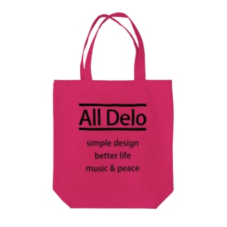 All Delo - better life トートバッグ