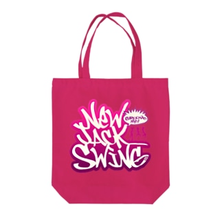 New Jack Swing pink Tote bags