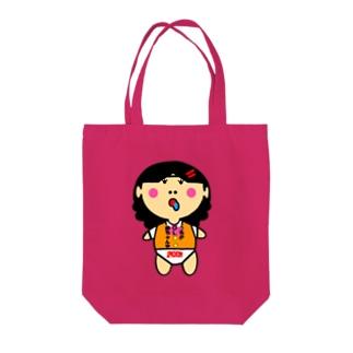 OL赤ちゃん Tote bags