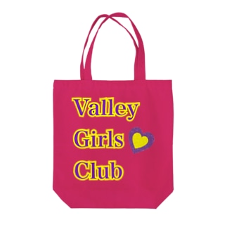Valleygirl  シリーズ💜 Tote bags
