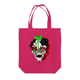 Cherry girl Tote bags