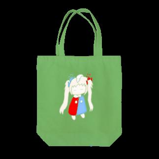 ゆぅぺいんと!のゆるゆるゆぅちゃんver.すやすやすやっぴ Tote bags