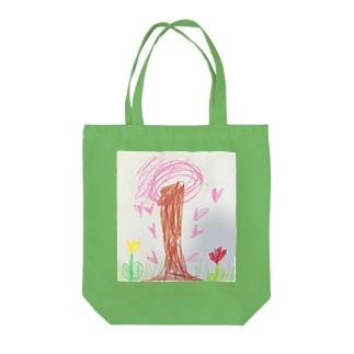 桜が咲いたよ Tote bags
