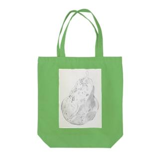 洋梨 Tote bags