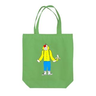 QK活動まさるくん Tote bags