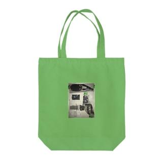 のっぺらぼう女 Tote bags