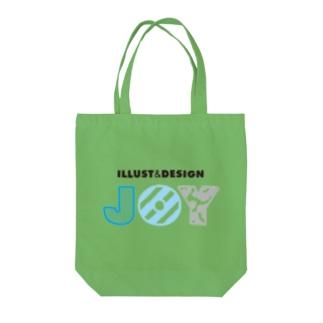 JOY-LOGO1 Tote bags