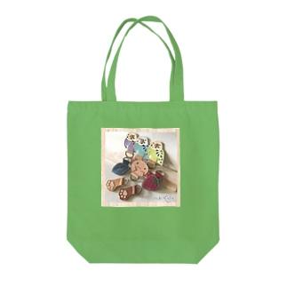 インコさんウパさん Tote bags