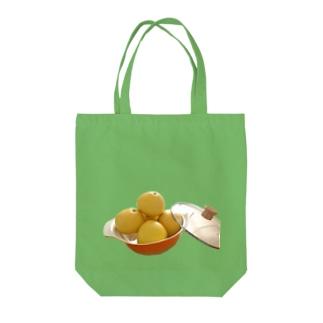 文旦なべ Tote bags