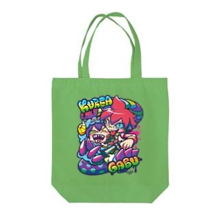 クレア&ガブ Tote bags