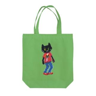 ねこびとさん(Oliver) Tote bags