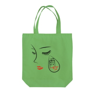 雨女 Tote bags