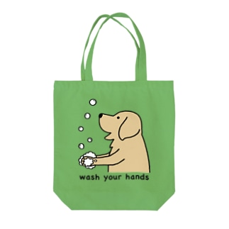 wash hands 2 Tote bags