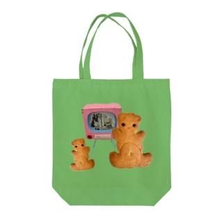 しみずやのくまサブレ Tote bags