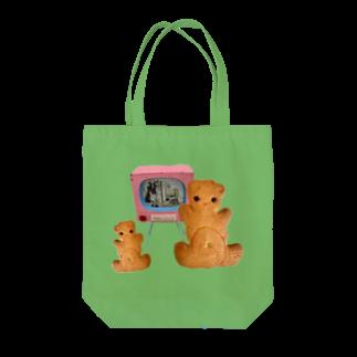 川北すピのしんのしみずやのくまサブレ Tote bags