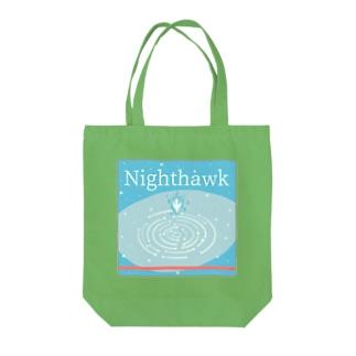 Night hawk Tote bags