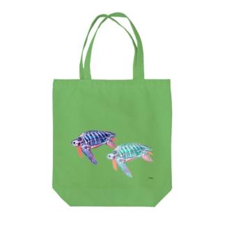 オサガメ2 Tote bags