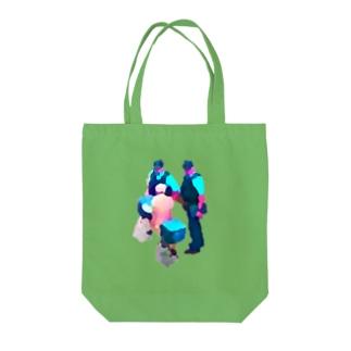 親切なお巡りさん Tote bags