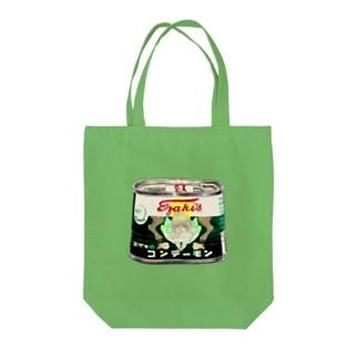 悪魔缶 Tote bags