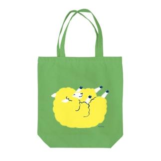 ゴロゴロたろちん Tote bags