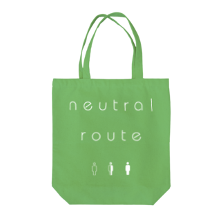 8garage SUZURI SHOPのneutral route [White] Tote bags