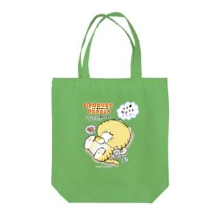 Nyanchu Couple (ニャンチュウカップル) Tote bags