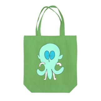 うちゅうじん【イケてる】 Tote bags