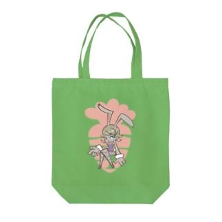 ウサバニー Tote bags