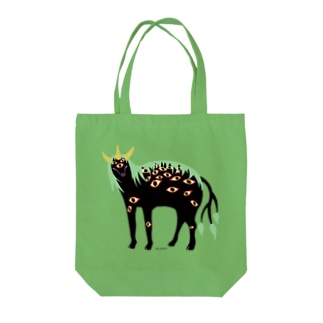 神獣白澤ちゃん Tote bags