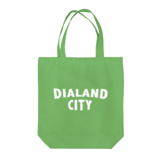 DIALAND LOVERSのDIALAND CITY WHITE Tote bags