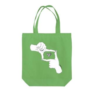 パシャっ Tote bags
