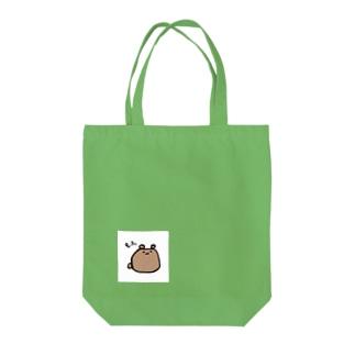 もふくま Tote bags