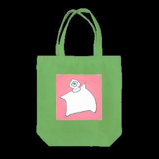 maesae-youmeのおてふりまふふ Tote bags