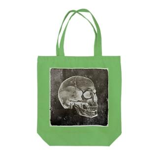 💀スカル Tote bags