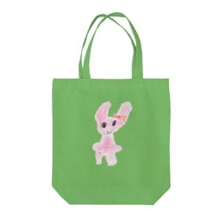 うさぎちゃん Tote bags