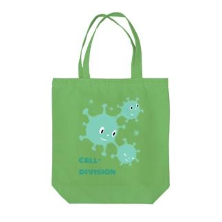 細胞分裂 Tote bags