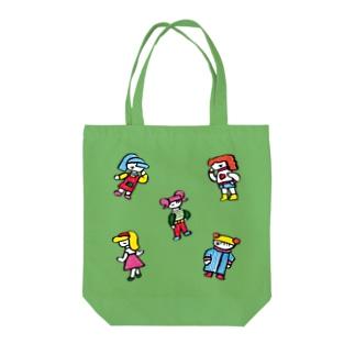 おしゃれちゃんズ Tote bags