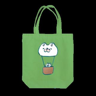 まっくすらぶりーうさのまっくすらぶりー熱気球 Tote bags