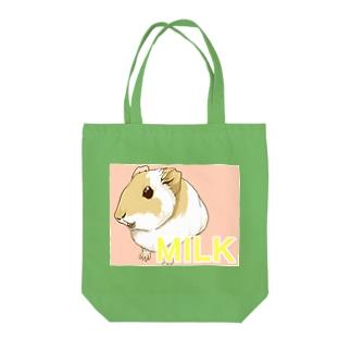 MILKちゃん Tote bags